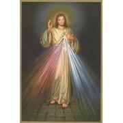"Divine Mercy Plaque cm.15.5x10.5 - 4""x6"""