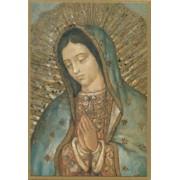 """Guadalupe Plaque cm.15.5x10.5 - 6""""x4"""""""