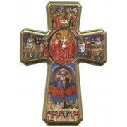 "Trinity Cross cm.25 - 10"""