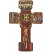 Eucharistic Cross cm.12 - 4 3/4""