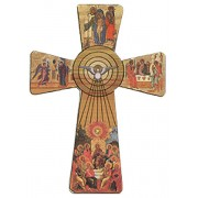 Holy Spirit Cross cm.8.5 - 3 1/2""