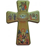 Holy Spirit Cross cm.33.5 - 13 1/4""