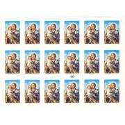 "St.Joseph 18 Stickers cm.12x16 - 5""x6"""