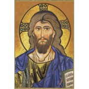 "Year of the Faith / Pantocrator Plaque cm.15.5x10.5 - 6""x4"""