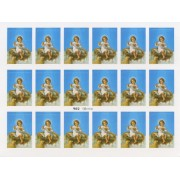 "Jesus in Crib 18 Stickers cm.12x16 - 5""x6"""