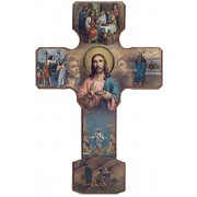 Mystery of Light Cross cm.13-5""