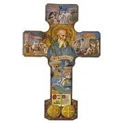"St.Benedict Wood Cross cm.13 - 5"""