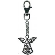 Pewter Purse Charm Silver Angel Gift Boxed