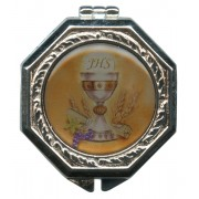 Chalice Enamel Plaque Rosary Box mm.38 - 1 3/4""