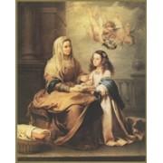 """St.Anne Plaque cm.25.5x20.5 - 10""""x8 1/8"""""""