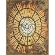 "Holy Spirit Plaque cm.26.5x20.5 - 10 3/8""x8 1/8"""