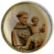 St.Anthony Dome Lapel Pin cm.2 - 3/4""