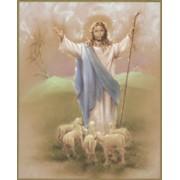 "Good Shepherd Plaque cm.25.5x20.5 - 10""x8 1/8"""