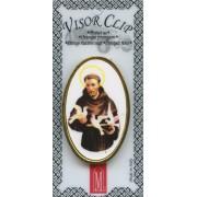 "St.Francis Visor Clip mm.50 - 2"""