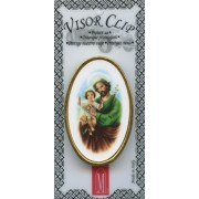 """St.Joseph Visor Clip mm.50 - 2"""""""