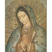 """Guadalupe Plaque cm.25.5x20.5 - 10""""x8 1/8"""""""