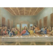 "Last Supper Plaque cm.30.5x20.5 - 12""x8 1/8"""