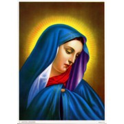 "Our Lady of Sorrow Print cm.19x26 - 7 1/2""x 10 1/4"""