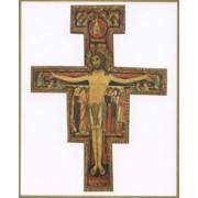 "St.Damian Plaque cm.25.5x20.5 - 10""x8 1/8"""