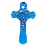 """Aqua Murano Cross Long cm.5 - 2"""""""