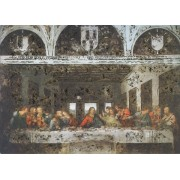 """Last Supper High Quality Print with Gold cm.20x25- 8""""x10"""""""