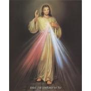 "Divine Mercy High Quality Print cm.20x25- 8""x10"" French"