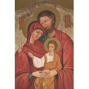 "Icon Holy Family High Quality Print cm.20x25- 8""x10"""