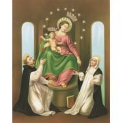 """Madonna de Pompei High Quality Print cm.20x25- 8""""x10"""""""