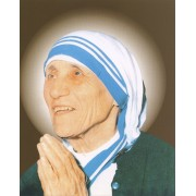"Mother Theresa High Quality Print cm.20x25- 8""x10"""