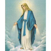 "Immaculate Conception High Quality Print cm.20x25- 8""x10"""