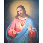 "Sacred Heart of Jesus High Quality Print cm.20x25- 8""x10"""