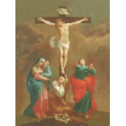 "Crucifixion High Quality Print cm.20x25- 8""x10"""