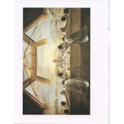 "Last Supper (Salvador Dali) High Quality Print cm.20x25- 8""x10"""