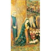 "Nativity Holy Card cm.7x12 - 2 3/4"" x 4 3/4"""