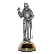 Padre Pio Car Statuette mm.60 - 2 1/4""