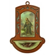 """St.Francis Brown Water Font cm.9x13 - 3 1/2""""x5"""""""