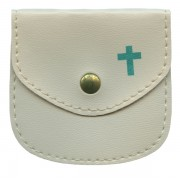 "Rosary Pouch cm.8x8- 3 1/4""x 3 1/4"""