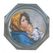 """Ferruzzi Clear Octagon Rosary Box cm.5.4x 2 1/8"""""""