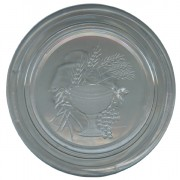 Clear Chalice Octagon Rosary Box cm.5.4- 2 1/8""