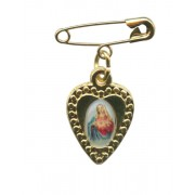 Immaculate Heart of Mary Lapel Pin mm.19 - 3/4""