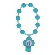 Emerald Flexible Plastic Scented Decade Rosary mm.5