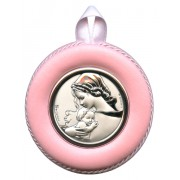 Crib Medal Mother and Child Pink cm.8.5- 3 1/4""