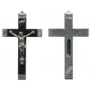 """Relic Black Crucifix mm.45- 1 3/4"""""""