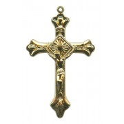 Crucifix Gold Plated Metal mm.50- 2""