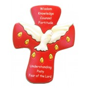 "Confirmation Fridge Magnet/ Standing Plaque cm.6x 4.5- 2 1/2""x 1 3/4"""