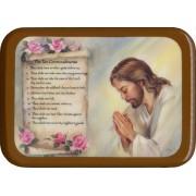"""The Ten Commandments Plaque cm. 21x29- 8 1/2""""x 11 1/2"""""""