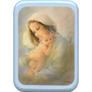 "Mother and Child Plaque cm. 21x29- 8 1/2""x 11 1/2"""