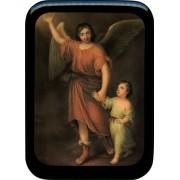"Guardian Angel Prayer Plaque cm. 21x29- 8 1/2""x 11 1/2"""