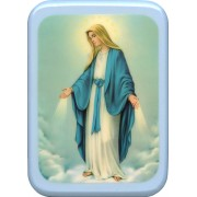 "Immaculate Plaque cm. 21x29- 8 1/2""x 11 1/2"""