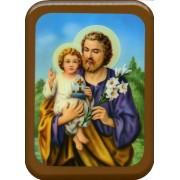 "St.Joseph Plaque cm. 21x29- 8 1/2""x 11 1/2"""